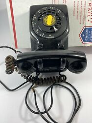 Leich Electric Monophone Rotary Dial Telephone Rotary Not Working Rare Hanging