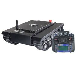 Tr500s Robot Chassis Tank All-terrain Rubber Assembled Load 50kg W/ Controller