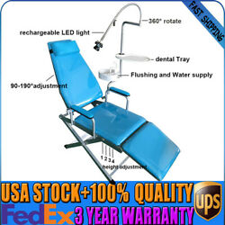 Dental Portable Folding Chair Unit Flushing And Water Supply System Mobile Unit