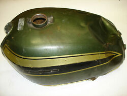 Honda Motorcycle Oem Old Antique Collectible Gas Tank Fuel Needs Restored Look 2