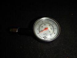 Collectible Metal Tire Gauge Made In Taiwan By Jl