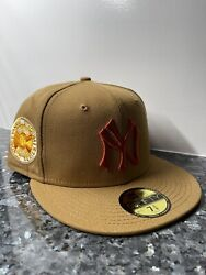 """7 3/8 New York Yankees 1936 World Series """"bacon Egg And Cheese"""" Fitted Hat 5950"""