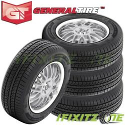 4 General Altimax Rt43 225/60r17 99t All Season Touring Tires 75k Mile Warranty