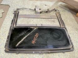 01-03 Ford F150 Crew Cab Used Sunroof Glass Assembly W Rails And Motor