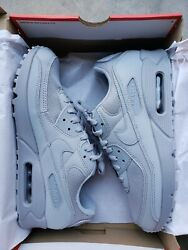 Nike Air Max 90 And039triple Greyand039 Cn8490-001 - Sizes 7.5-11