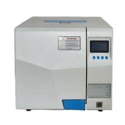 24l Table Top Pulse Vacuum Steam Sterilizer Autoclave With Lcd Display Class B