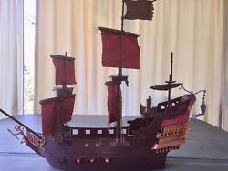 Disney Queen Anneand039s Revenge 30 Ship Perfect For Displaying 54mm Pirate Figures