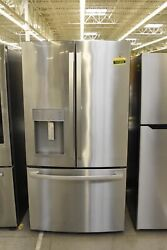 Ge Gfd28gynfs 36 Stainless French Door Refrigerator Nob 111310
