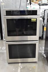 Samsung Nv51t5511ds 30 Stainless Electric Double Wall Oven Nob 111355