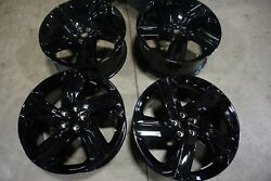 22 Land Rover Discovery Factory Oem Black Wheels Rims Range Rover / Sport