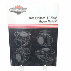 Briggs And Stratton Twin Cylinder L Head Engine Ohv Repair Manual 271172 4/99