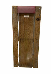 """Vintage Wood Roll-over Mechanics Creeper 14.5""""x36"""" Model 33 Made In The Usa"""