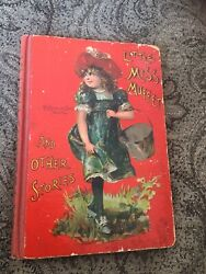 Rare Childrens Book 1900andrsquos Mcloughlin Bros African-american Boy + 29 Misc. Litho