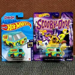 Hot Wheels Scooby-doo The Mystery Machine Types Set