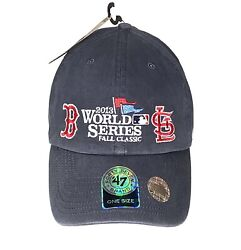 Boston Red Sox St Louis Cardinals World Series 2013 Adjustable Hat New