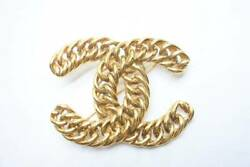 Brooch Accessory 1107 Vintage Gold Coco Mark Women 's Good 30643 _68333