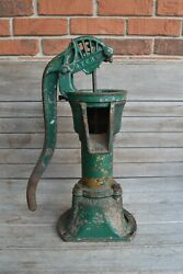 Vintage Myers Ashland Oh Cast Iron Antique Hand Water Well Pump