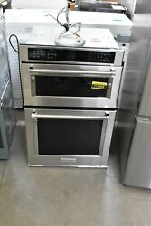 Kitchenaid Koce507ess 27 Stainless Microwave-oven Combo Wall Oven Nob 111406
