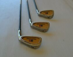 Us Kids Golf Championship Series Irons 5 7 And 9 Iron For 63-66 Player Excellent