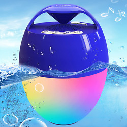 Portable Bluetooth Pool Speaker,hot Tub Speaker With Colorful Lights,ip68 Waterp
