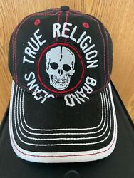 New True Religion Embroidered With Skull Hat Black Unisex 85