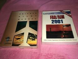 S13 New And Sealed Jeppesen Private Pilot Manual And Far/aim 2001 Manual Sealed