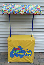 Sunny Day Play Lemonade Stand With Canopy - By Kids Only Excellent