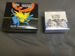 Pokemon Xy Evolutions Booster Box With Case And Hidden Fates Etb