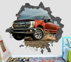 Ford Pickup Truck Wall Decals Stickers Mural Home Decor For Bedroom Art Op61