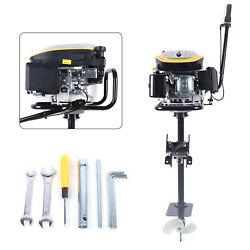 4stroke 9hp Outboard Motor Fishing Boat Engine Air Cooling System 225cc Frn X1