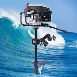 4 Stroke 9.0hp Outboard Motor Fishing Boat Engine Air Cooling System 225cc New