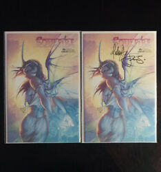 Soulfire 1 2003variant Signed X2 Michael Turner And Peter Steigerwald W/coa Lot