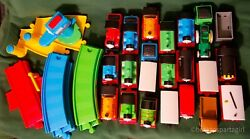 Thomas And Friends My First Thomas Lot Of Track And 20 Trains 3 Vehicles 39 Piece