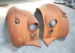 1946-1952 Bentley Mkvi Front Fender Wings Left And Right Side Oem Heavy Rust