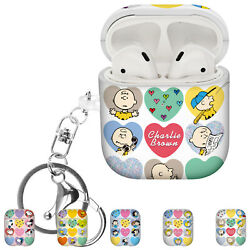 Willbee Heart For Airpods Case With Keychain Key Ring Hard Pc Cover