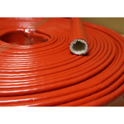 Glass Silicone Cable Protection Sleeve High Temperature Protection Hose Hightemp