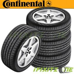 4 Continental Contiprocontact 255/45r18 99h All-season Grand Touring A/s Tires