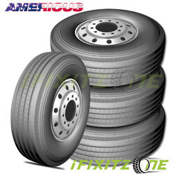 4 Americus Rs2000 285/75r24.5 144/141l G/14 All Season Commercial Tires