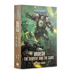Urdesh The Serpent And The Saint Black Library Hardcover Book Warhammer 40k