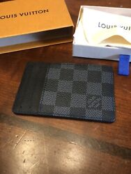 Louis Vuitton Neo Card Holder -damier Graphite Canvas - Brand New Sold Out