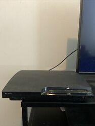 Sony Playstation 3 - Slim 120gb Black Console Tested And Working Console Only