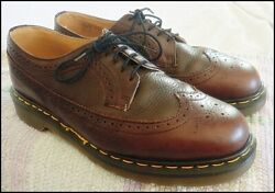 Vintage Dr. Martens Lace-up Wingtip Brogues [discontinued] Made In England