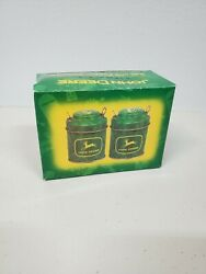 John Deere Small Salt And Pepper Shaker Kitchen Tools And Gadgets Agriculture