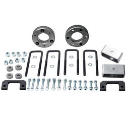 3.5 Front 2 Rear Lift Kit Differential Drop For Silverado 1500 6-lug 2007-18
