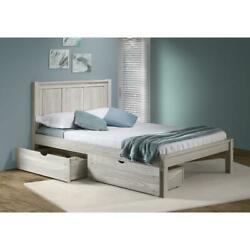 Dual Underbed Drawers Ice Grey
