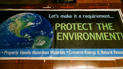 Every Day Is Earth Day Protect The Environment 20 Small Safety Banner Sign
