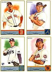 2011 Allen And Ginter A-j Pick Your Player
