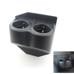 1x Dual Water Cup Drink Holder Black In Color For C5 Corvette Travel Buddy 97-13