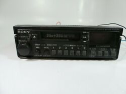 Vintage 80's Sony Xr-7000 Fm/am Cassette Car Stereo Radio W Synthesizer Pull Out