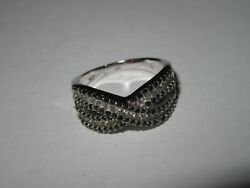 925 Silver Ring Size Q